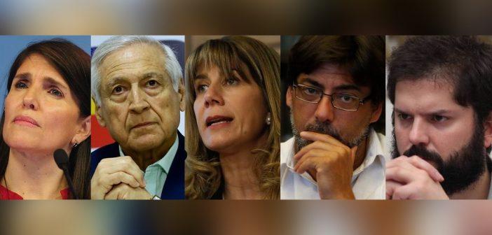 Todos los candidatos presidenciales de Centro Izquierda condenaron atentado a la libertad de expresión del Ejército… En la Derecha ninguno