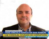 Concejal narco de San Ramón fue detenido mientras intentaba arrancar de Chile