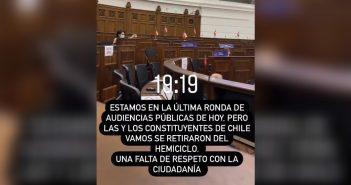 FACHOS VAGOS: La Derecha lleva una semana retirándose antes de la Convención Constitucional