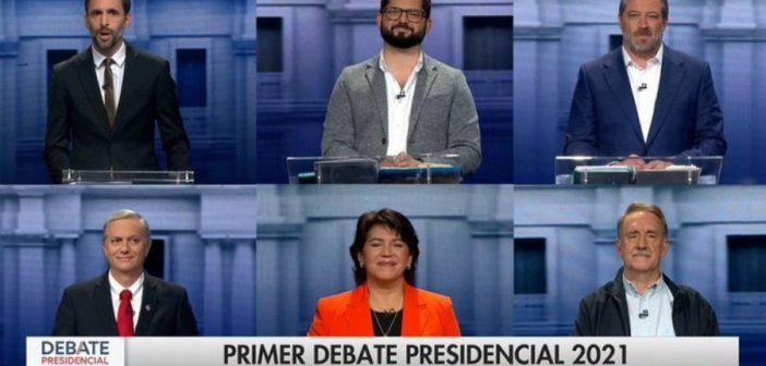 DEBATE PRESIDENCIAL: Boric ya habla como presidente, Yasna sacó las garras, Sichel dio bote, Kast es un nazi, Artés se cansó de pasear fachos