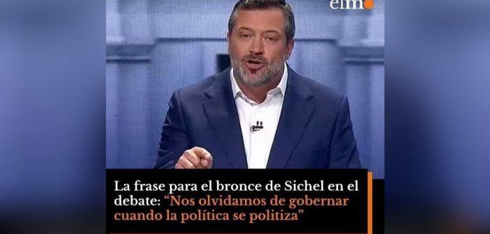 """""""No hay que politizar la política"""" Frase de Sichel demuestra que es un candidato vacío sin consistencia ni sustancia"""