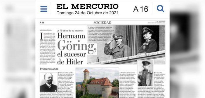 El Mercurio se cuadró con José Kast y sacó una nota reivindicando el nazismo